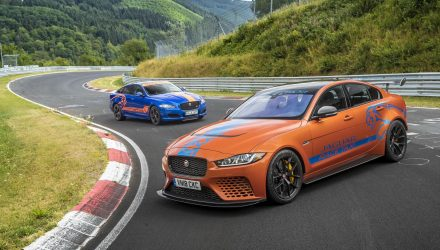 Jaguar XE SV Project 8 added to Nurburgring Race Taxi fleet