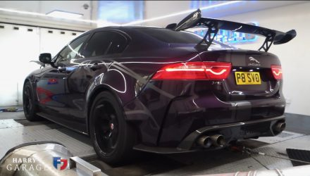 Jaguar XE SV Project 8 produces 362kW at the wheels (video)