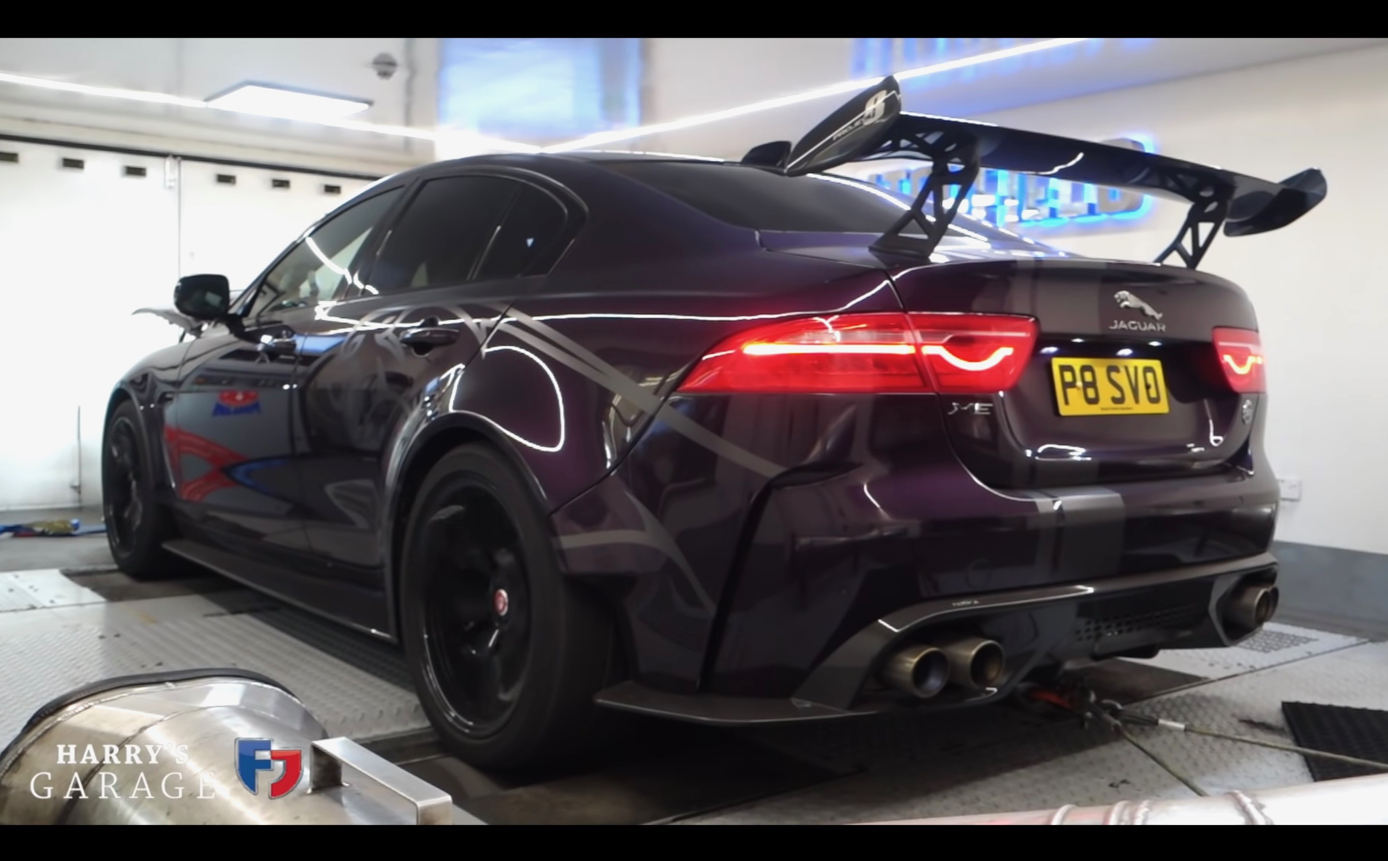 Jaguar Xe Sv Project 8 >> Jaguar Xe Sv Project 8 Produces 362kw At The Wheels Video