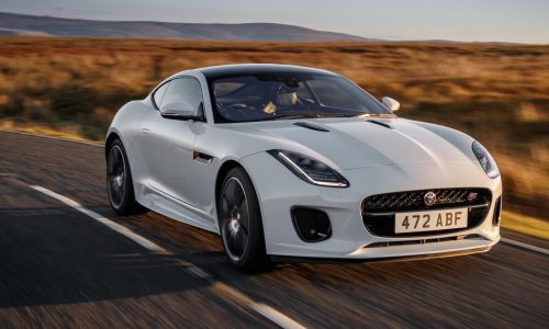 Jaguar F-Type Chequered Flag edition announced with MY2020