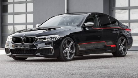 Mcchip-dkr tunes the quad-turbo BMW M550d beast