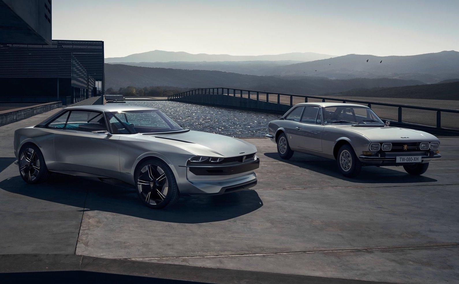 Peugeot electric car 2020