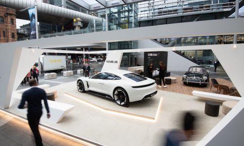 Porsche Mission E makes Australian debut at 'Future Lab' pop-up