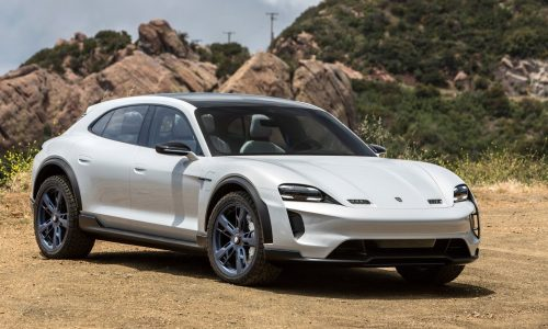 Porsche Mission E Cross Turismo confirmed for production