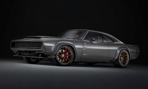 Mopar debuts 1000hp 'Hellephant' crate motor with 1968 Charger concept