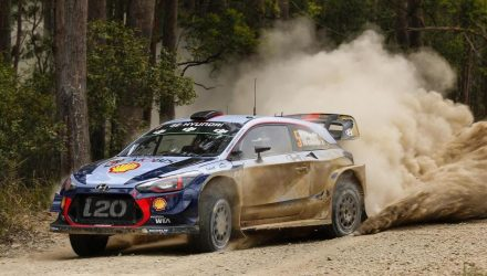 Hyundai in contention for WRC title at 2018 Rally Australia