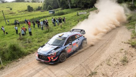 2018 Rally Australia highlights, Hyundai WRC car hot lap (video)