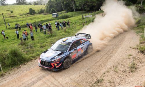 2018 Rally Australia highlights, Hyundai WRC car hot lap (video)