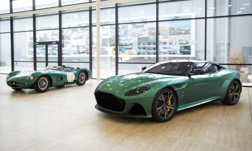Aston Martin DBS 59 revealed, tribute to DBR1 Le Mans win