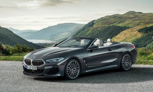 2019 BMW 8 Series Convertible officially unveiled