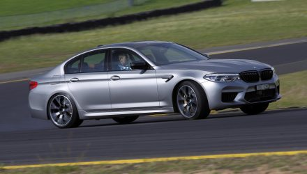2019 BMW M5 Competition-drift
