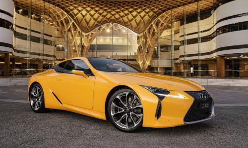 2019 Lexus LC Limited Edition debuts stunning Zinnia Yellow