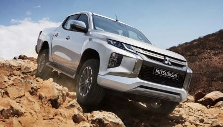 2019 Mitsubishi Triton unveiled with tougher look