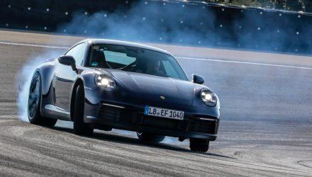 2019 Porsche 911 '992' undergoes final testing