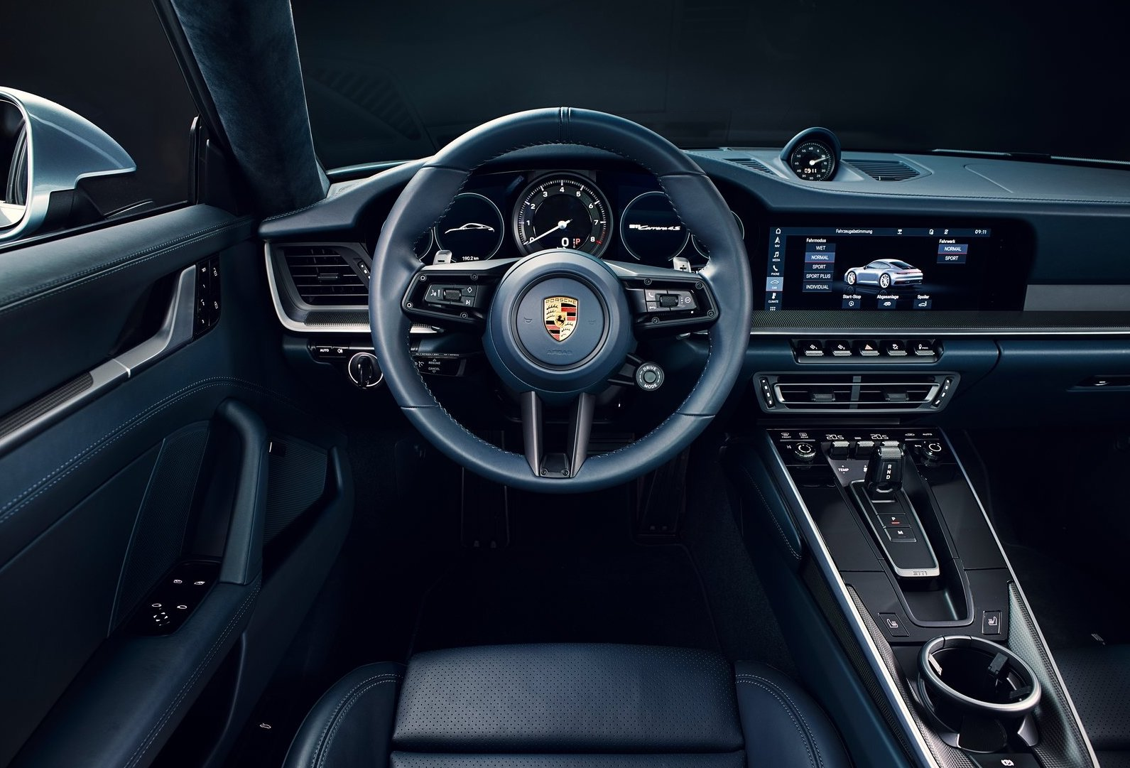 2019 porsche 911 officially revealed in carrera s form. Black Bedroom Furniture Sets. Home Design Ideas