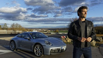 Mark Webber drives the new 2019 Porsche 992 911 (video)