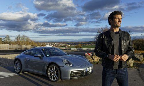 Mark Webber drives the new 2019 Porsche 992 911 (video)