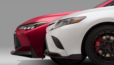 New Toyota Camry TRD previewed, to debut at LA auto show