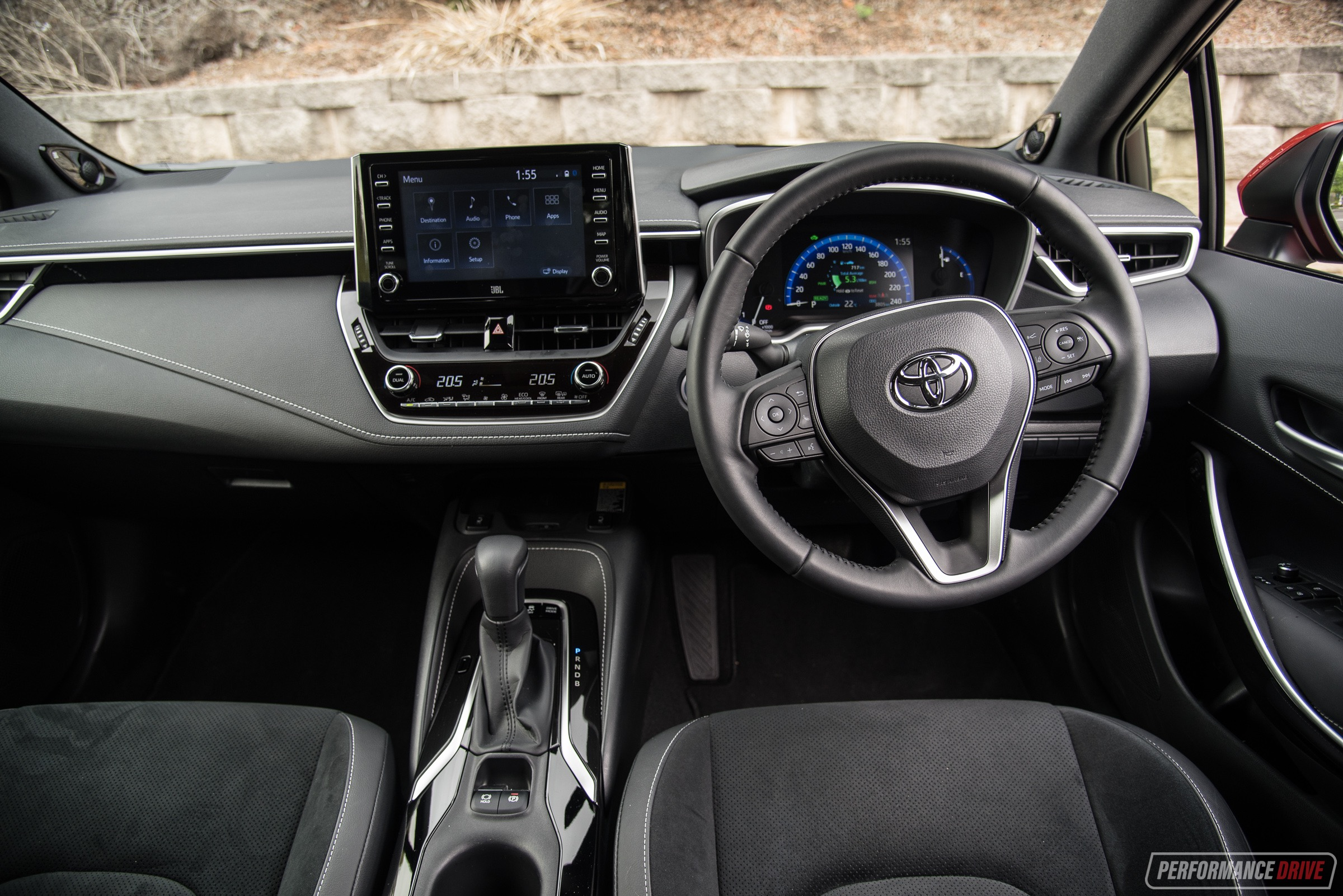2019 Toyota Corolla Zr Hybrid Review Video Performancedrive