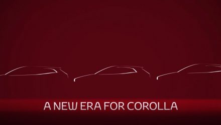 2019 Toyota Corolla sedan previewed, debuts soon