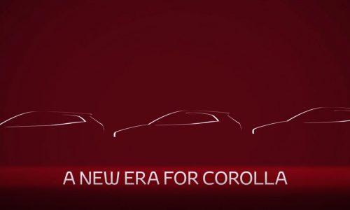 2019 Toyota Corolla sedan previewed, debuts soon