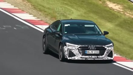 2020 Audi RS 7 spotted, to feature 500kW hybrid? (video)