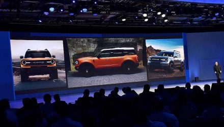 2020 Ford 'baby Bronco' revealed during presentation?