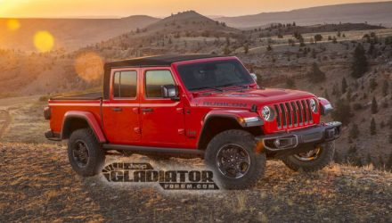2020 Jeep Gladiator pickup revealed via leaked images