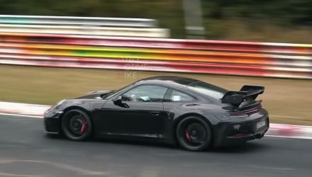 2020 Porsche 911 GT3 '992' spotted at Nurburgring, looks fast (video)