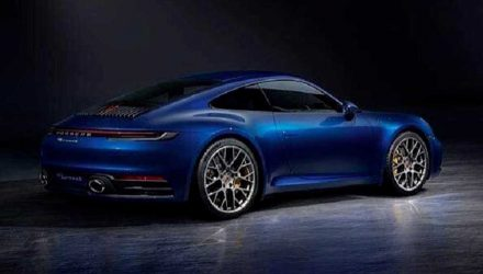 2019 Porsche 911 '992' revealed via leaked images