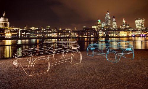 2020 Range Rover Evoque previewed with art sculptures