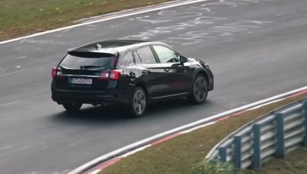 2020 Subaru Levorg spotted, switch to new Global Platform? (video)