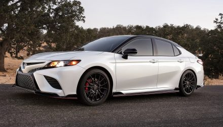2020 Toyota Camry TRD shows racy appeal