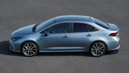 2020 Toyota Corolla sedan revealed
