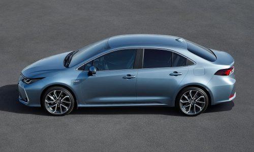 2020 Toyota Corolla sedan revealed