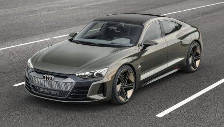 Gorgeous Audi e-tron GT concept previews 2020 EV