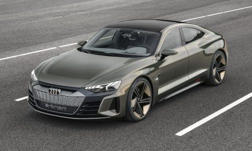 Gorgeous Audi e-tron GT concept previews 2020 EV