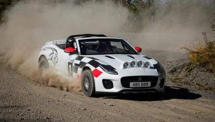 Jaguar creates F-Type rally car concepts, tribute to XK 120