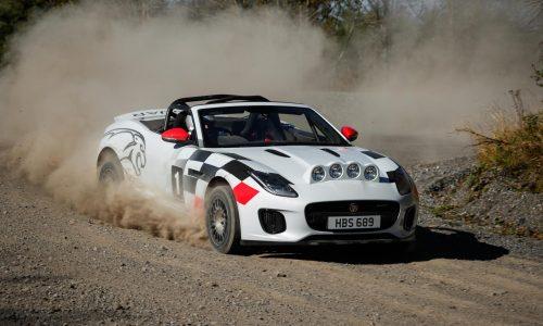 Jaguar creates F-Type rally car concepts, tribute to XK 120