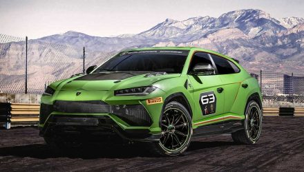 Lamborghini Urus ST-X concept previews new racing series