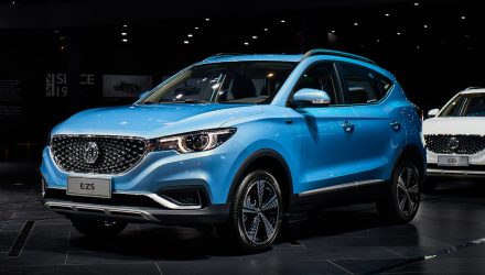 MG eZS electric SUV revealed, Australia under evaluation