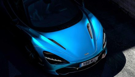 McLaren 720S Spider previewed, debuts December 8