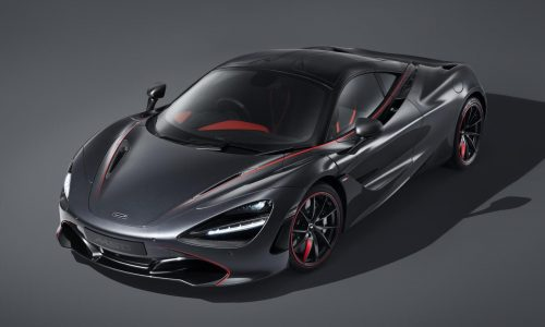 McLaren 720S Stealth theme announced by MSO