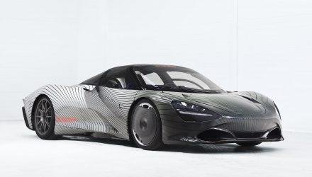 McLaren Speedtail testing begins with first complete prototype