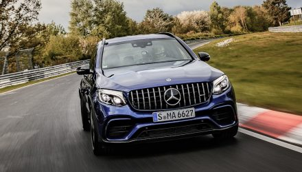 Mercedes-AMG GLC 63 S sets SUV Nurburgring record (video)