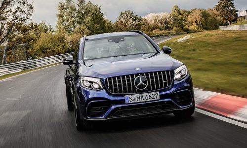 Mercedes-AMG GLC 63 S sets SUV Nurburgring record (video)