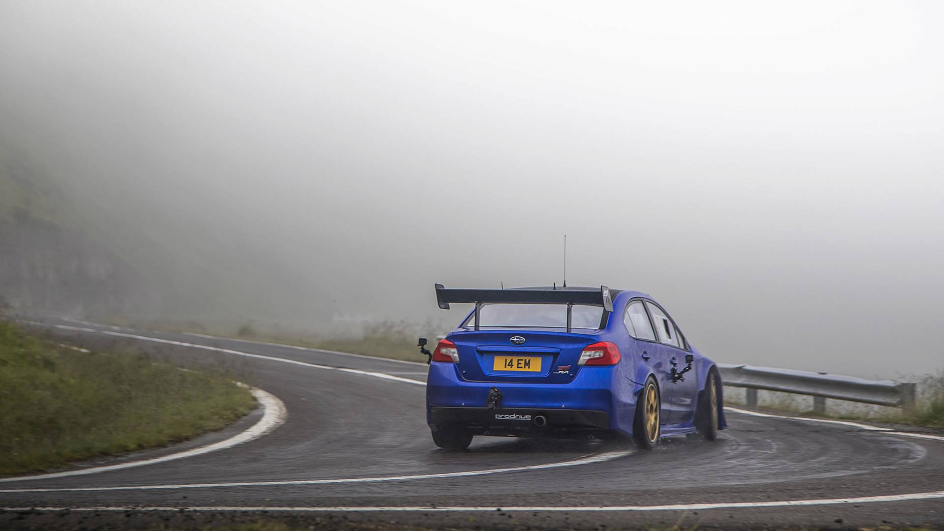 Nurburgring Lap Record >> Subaru WRX STI sets Transfăgărășan Highway record (video ...