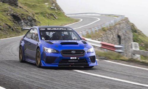 Subaru WRX STI sets Transfăgărășan Highway record (video)