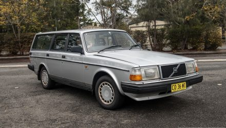 Video: 1989 Volvo 240 GL wagon 0-100km/h & engine sound