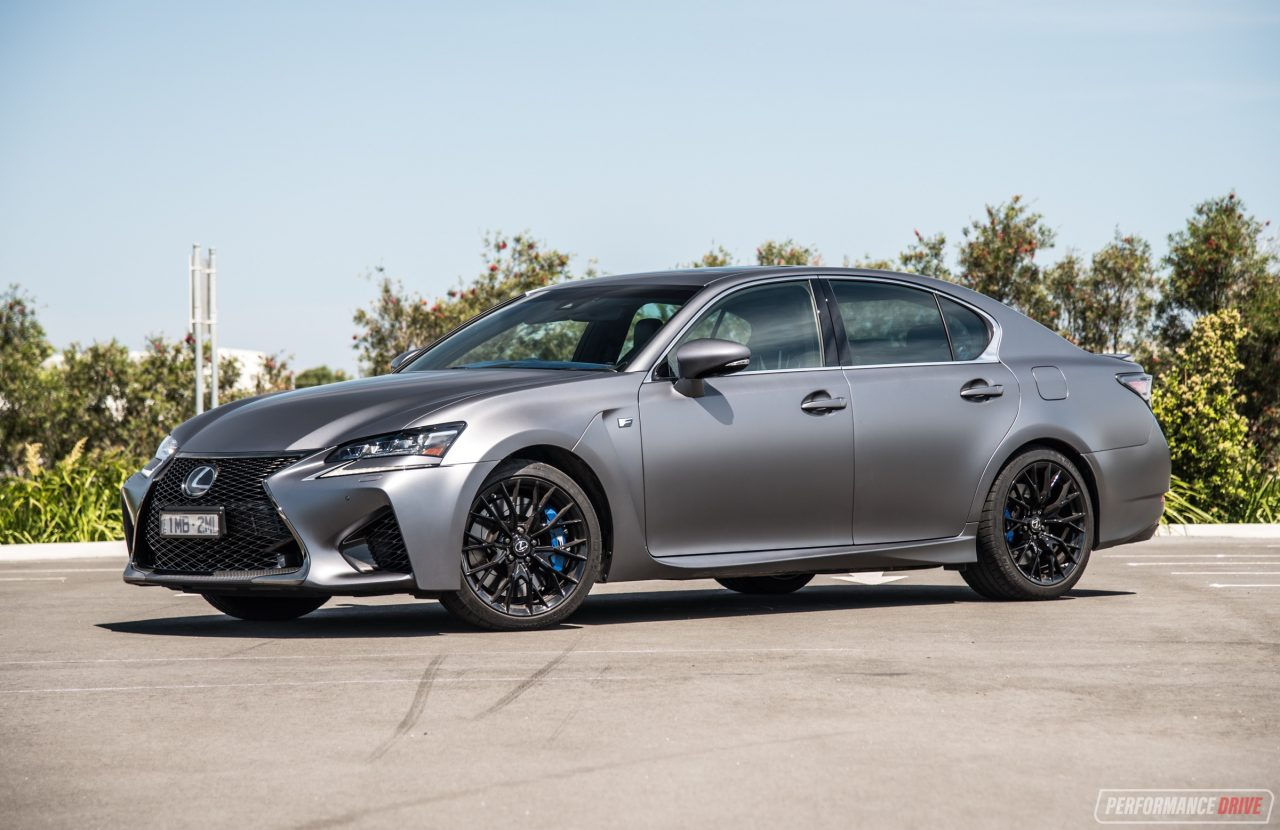 2018 Lexus GS F 10th Anniversary Edition review (video ...
